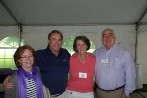 Judy and John Oppenheimer, Edie Thorpe and Paul Neely